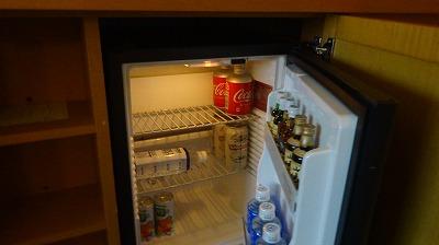 アンバサダーホテル 冷蔵庫