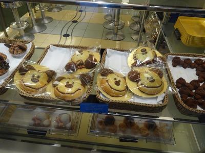 アンバサダーホテル パン屋