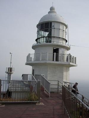 都井岬灯台画像