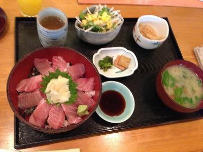 萩久保 マグロ丼