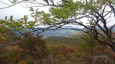 大涌谷から見た景色