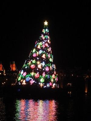 ディズニーシークリスマスツリー