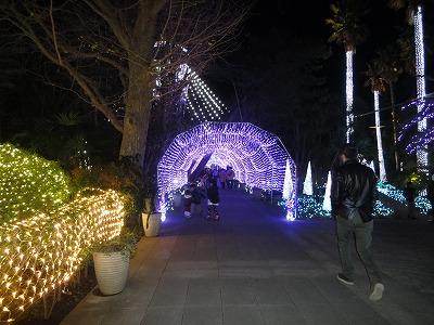 江ノ島 光のトンネル