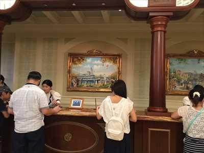 ディズニーランドホテル フロント